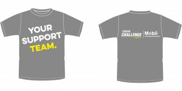 Support-Shirt Urban Challenge Hamburg 2017