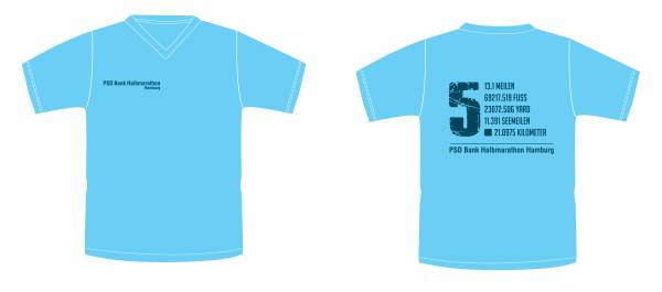 PSD Bank Halbmarathon Hamburg Shirt 2018