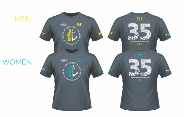 Finisher Shirt 2020 - Halbmarathon MEN